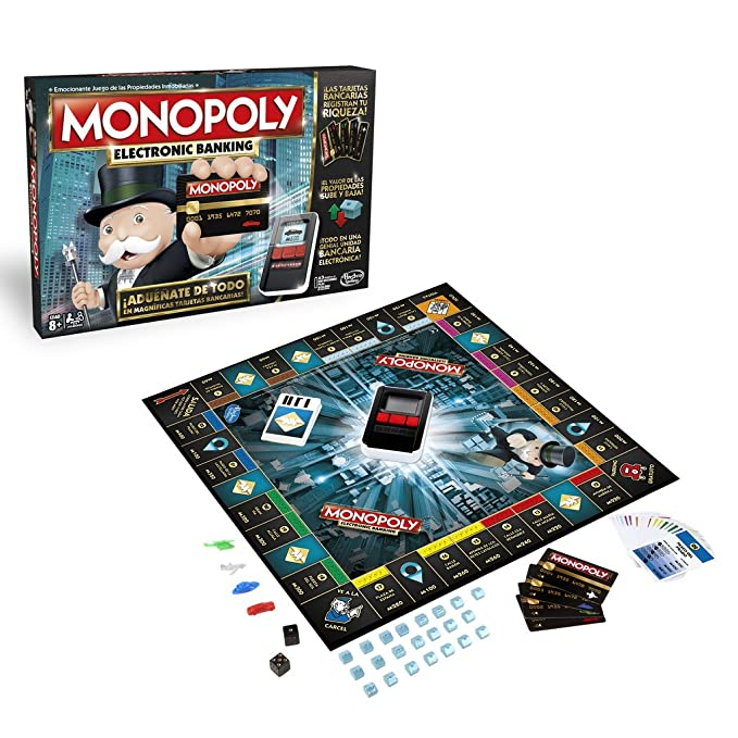 Amazon.com: Monopoly - Banca Electrónica (Hasbro B6677105 ...