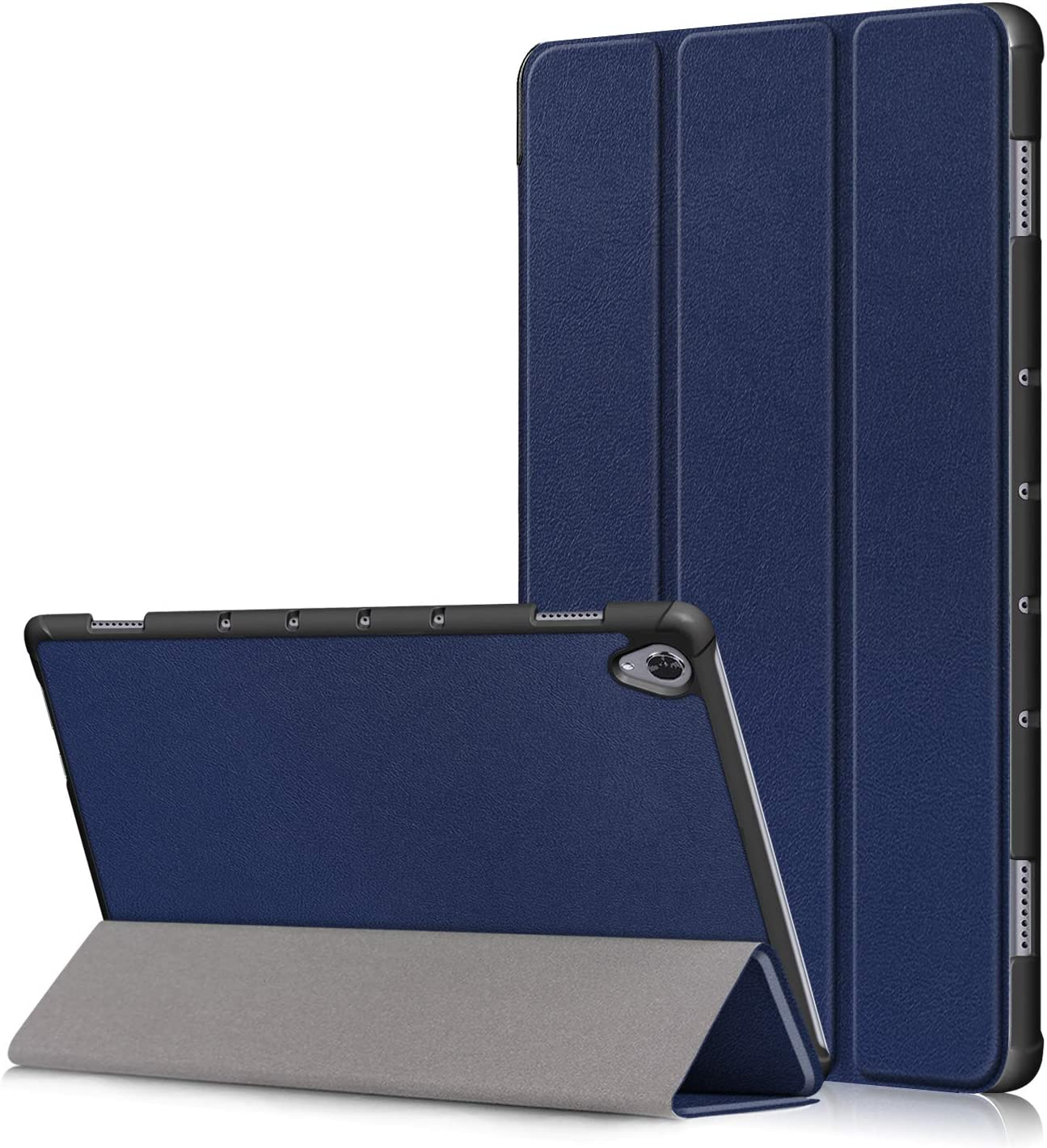 Huawei Mediapad M6 10.7 2019 Flip Case,Heavy Duty Hard Kid Proof Cover PU Floding Cover with Protection Ultra Slim Shell with Auto Wake//Sleep for Huawei Mediapad M6 10.7 2019 Tablet PC deep Blue