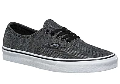 Vans Authentic (Oversized Herringbone) Black Herringbone 5 Mens   6.5 Womens b1c3ccdd7