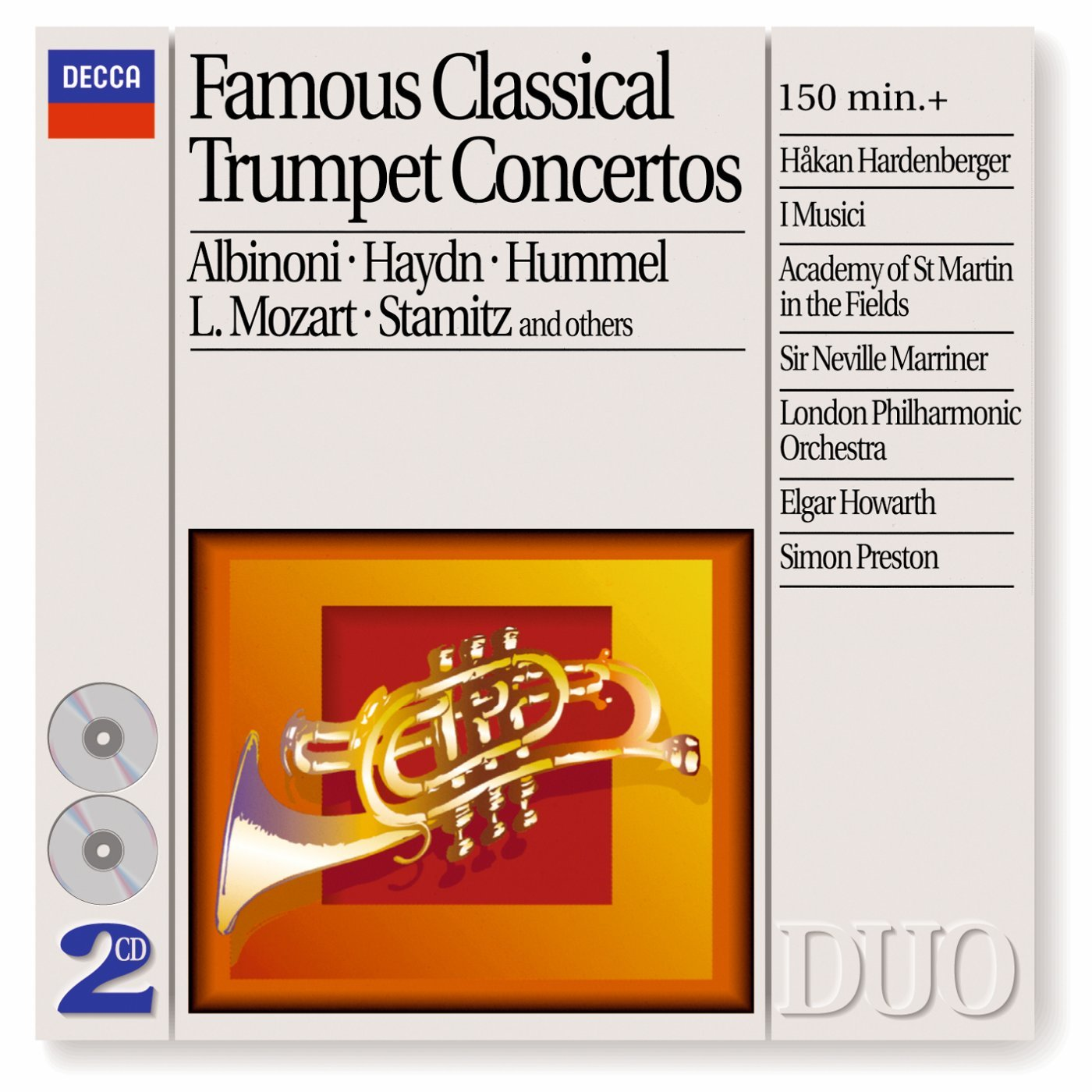 Famous Classical Trumpet Concertos by Remo