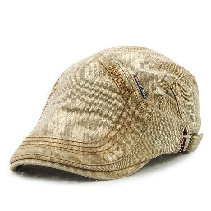 805403939 Men's Casual Denim Style Cotton Adjustable Newsboy Ivy Classic Cap Hat