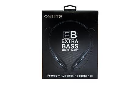 ONLITE L HP10 Wireless Bluetooth Headset   Black Headphones