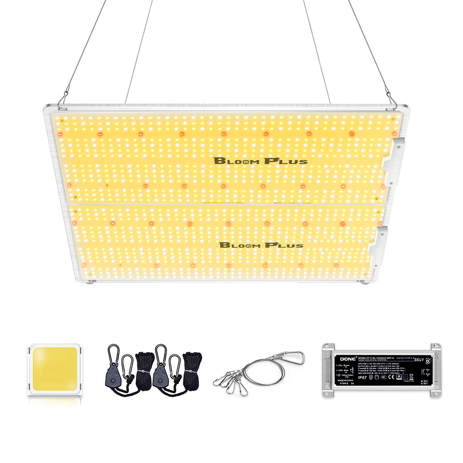 Bloom Plus LED Grow Light BP3000 with 1174pcs Samsung Diodes Dimmable Grow Lights 4x4ft Coverage Full Spectrum Newest…
