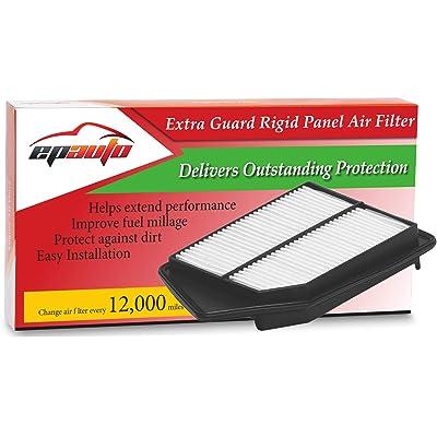 EPAuto GP476 GP476 (CA11476) Extra Guard Rigid Panel Air Filter Replacement for Honda Accord L4 Gas (2013-2020), TLX L4 (2015-2020): Automotive [5Bkhe1507174]