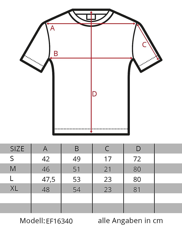 6f168a8c0fcf EightyFive Herren T-Shirt Basic Regular Destroyed Zerrissen Schwarz Weiß  Khaki EF16340  Amazon.de  Bekleidung