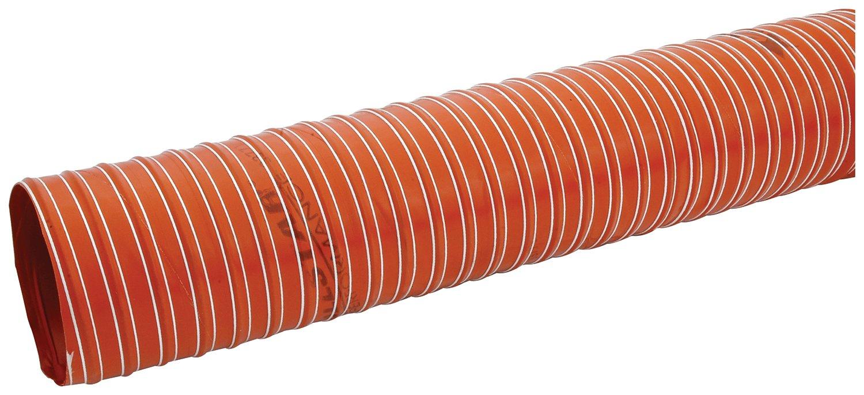 Allstar ALL42155 Orange 4'' x 10' Brake Duct Hose by Allstar (Image #1)