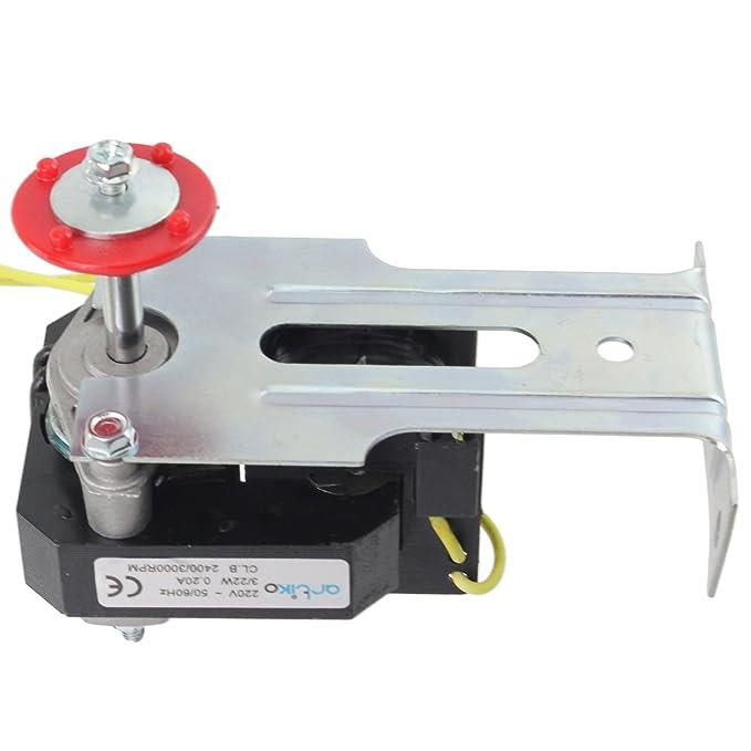 Kit universal de ventilador de refrigeración Spares2go para motor ...