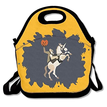 Amazon Com Headless Unicornman Lunch Bag Tote Handbag Lunchbox For