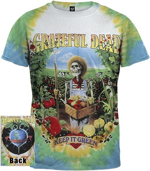 New GRATEFUL DEAD Keep It Green Tie Dye T Shirt