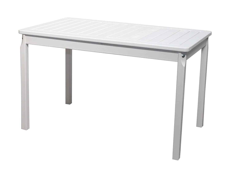 nordische gartenm bel massivholz tisch evje 5 gartentisch esstisch wei. Black Bedroom Furniture Sets. Home Design Ideas