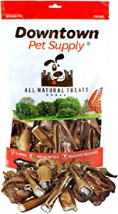 Downtown Pet Supply Bully Stick Bites, Great Training Dog Treats - Low Odor (1/2 LB, 1 LB)