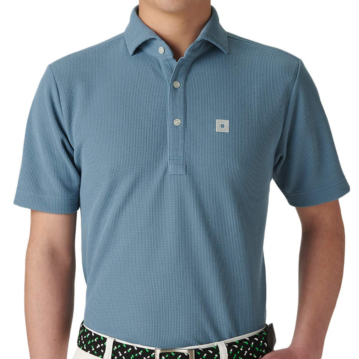 オノフ ONOFF 半袖シャツポロシャツ 半袖ポロシャツ LL ブルーグレー B07Q7JGHZT