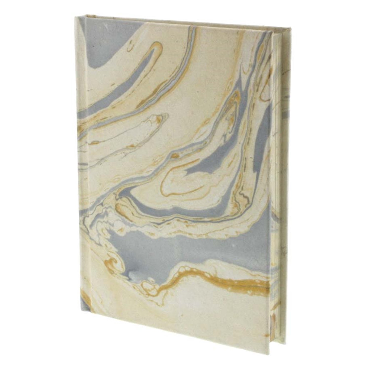 HomArt Marbleized Paper Journal (Blue) (Set of 12)