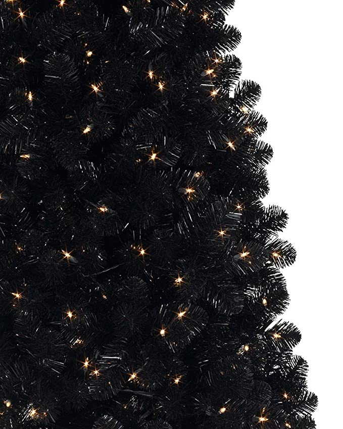 Amazon.com: Treetopia Basics - Black Artificial Christmas Tree, 6 ...