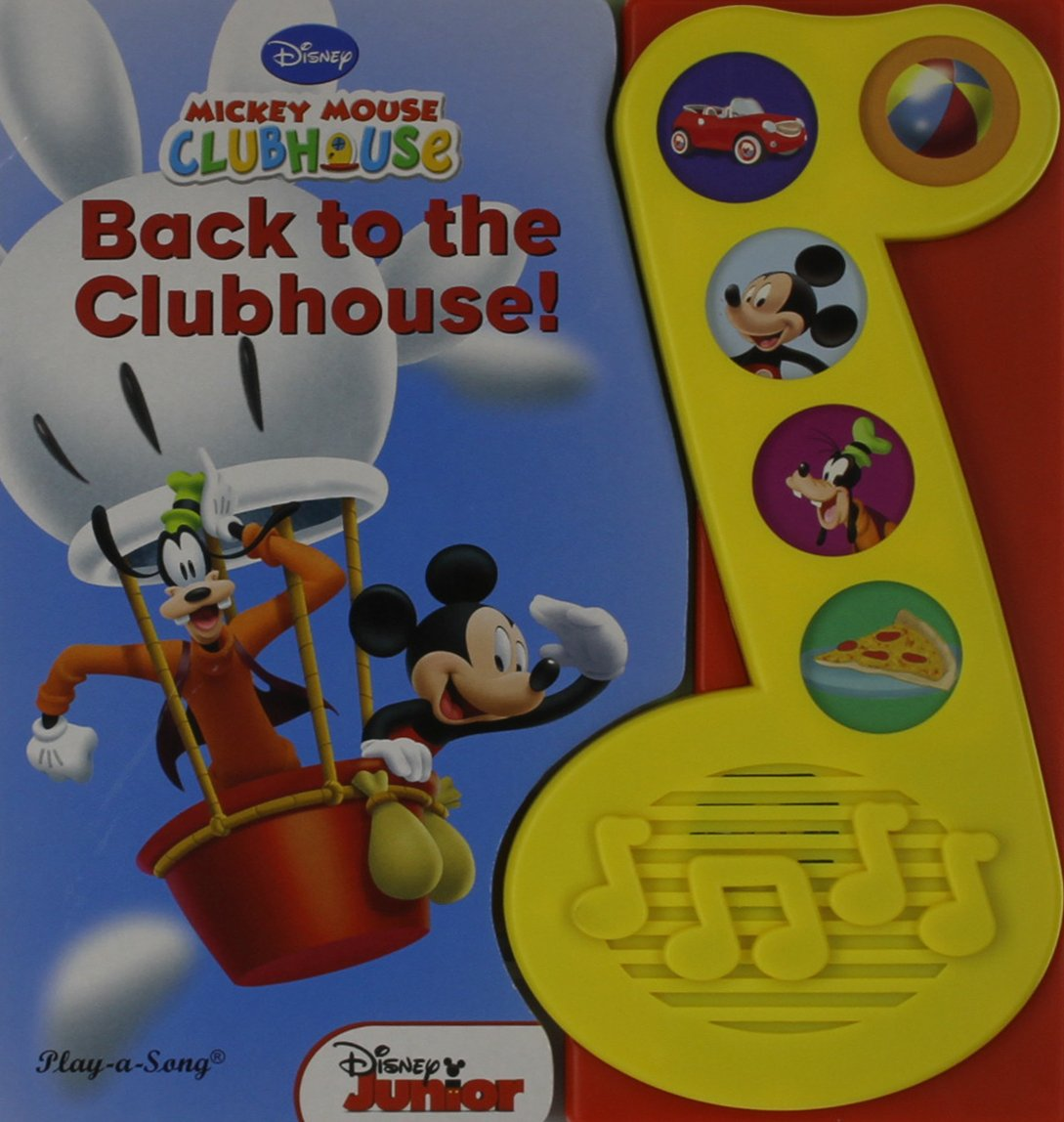 Read Online Back to the Clubhouse (Play-a-song: Mickey Mouse Clubhouse) pdf epub