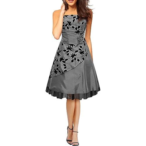 BlackButterfly Sia Essence Satin Floral Party Prom Dress