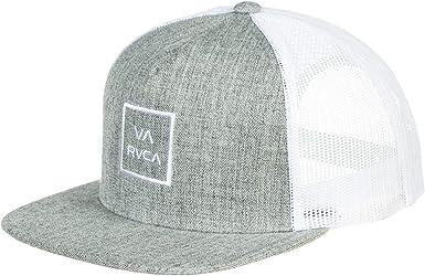 RVCA MAAHWVWY-Gorra de béisbol Hombre Ruido gris/blanco. Taille ...