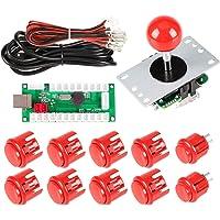 EG STARTS Zero Delay USB Encoder To PC Controller OEM 5Pin Joystick + 10 Push Buttons For Arcade DIY Kits Parts Mame…