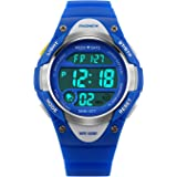 ae7eb3418689 Hiwatch Reloj para Niños Niñas Deportivos Impermeable 164 pies LED Digital  a Prueba de Agua