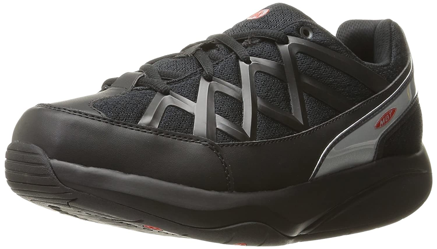MBT SHOE BLACK 400335-03 Sport3 B01BG1XR6A 24.5 cm|Black Black 24.5 cm
