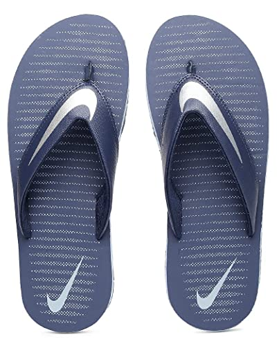 105dc3137040 Nike Men s Loyal Blue Chrome and Blue Grey Chroma Thong 5 Flip Flops (833808