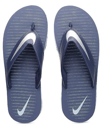 bc317465882f Nike Men s Loyal Blue Chrome and Blue Grey Chroma Thong 5 Flip Flops (833808