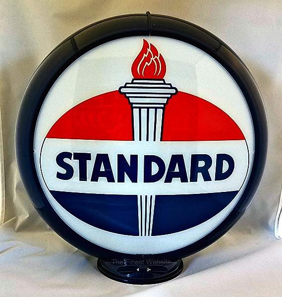 "THE TEXACO COMPANY USA PETROLEUM PRODUCTS 13.5/"" Gas Pump Globe SHIPS ASSEMBLED!!"