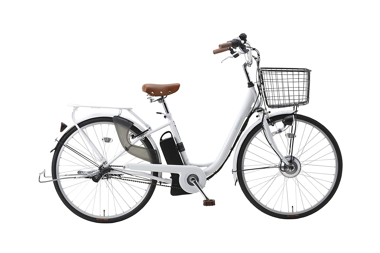 KAIHOU BM-P10WH SUISUI 26インチ 電動アシスト自転車 内装三段変速ギア バッテリー(5.8Ah)、充電器、六角レンチ、スパナ、盗難保証カード、取扱説明書一式付属 B01MTD2RTJ