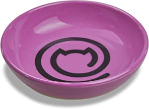 Van Ness Ecoware Cat Dish 8 Ounce Special Edition, Fuchsia Rose