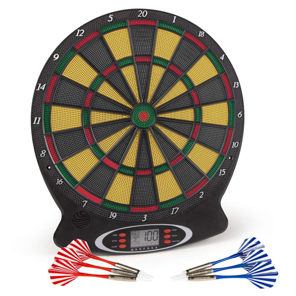 ColorBaby - Diana electrónica de 8 jugadores y 18 juegos, 37.8 x 43 cm (43095) Colorbaby Toys