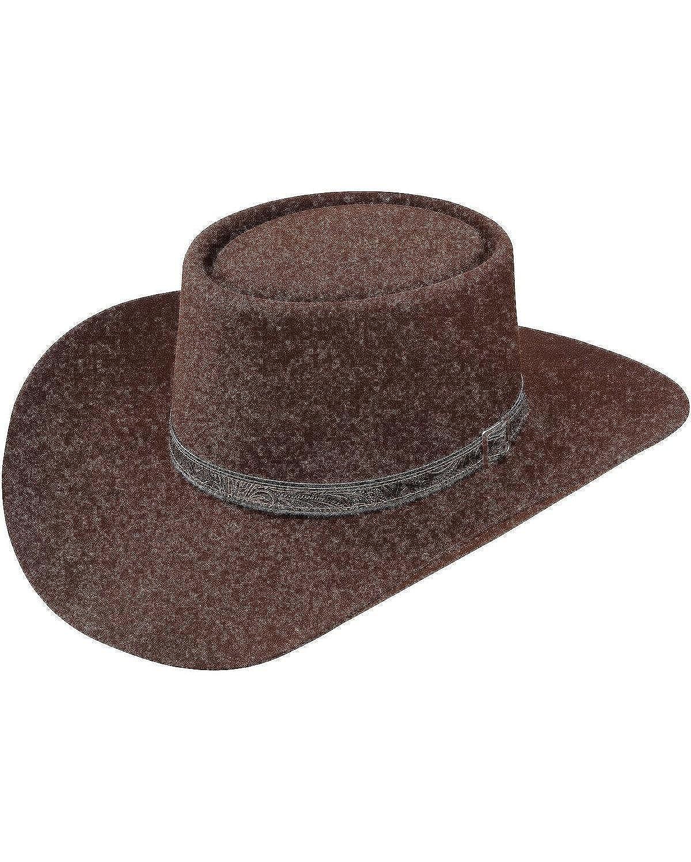 Stetson Men's 4X Buffalo Revenger Felt Gambler Hat 096F66