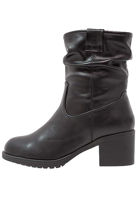 Anna Field Botas de Mujer - Botines con Tacón de Bloque - Ankle Boots Elegantes,