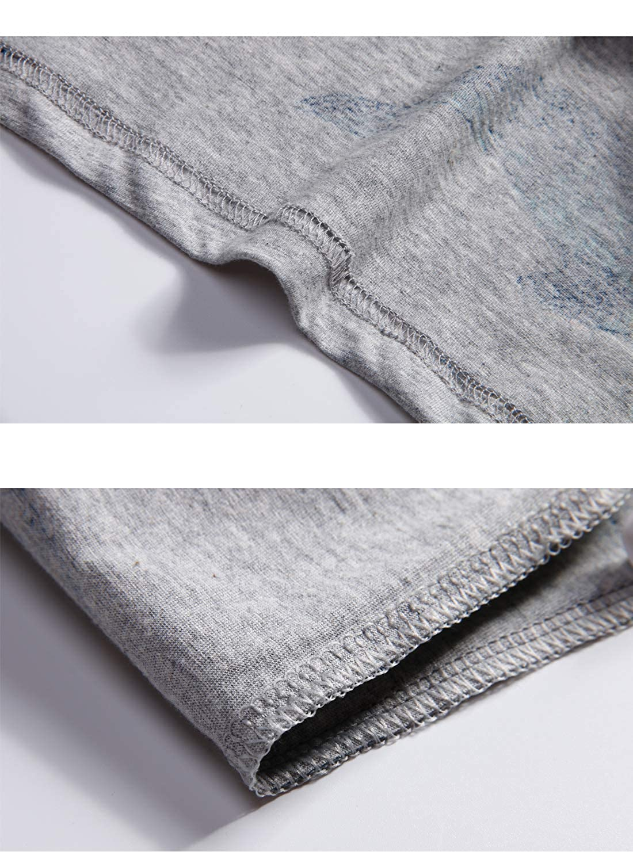 Big Boys Cute Shark Cotton Sleepwear Summer Pajama Sets 2 Pieces 10y-20y