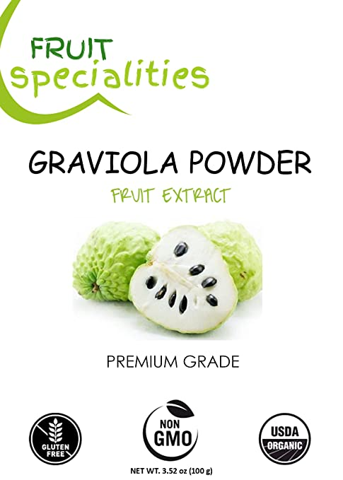 amazon com graviola soursop fruit powder 100 natural pure rh amazon com