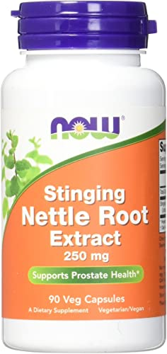 NOW Nettle Root Extract 250mg, 90 Veg Capsules