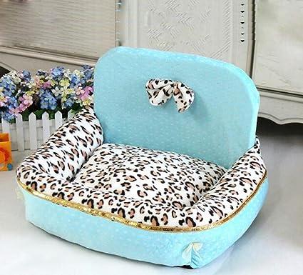 Pet Mat Leopard alta trasero perrera caliente nido de gato ...