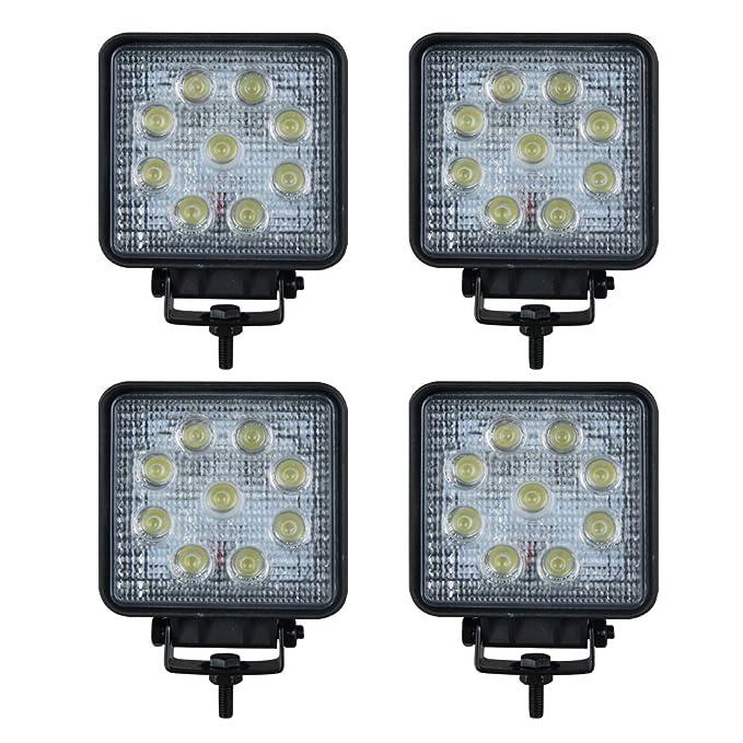 2X 18W LED 12V 24V Scheinwerfer Arbeitscheinwerfer LKW Offroad Strahler IP65