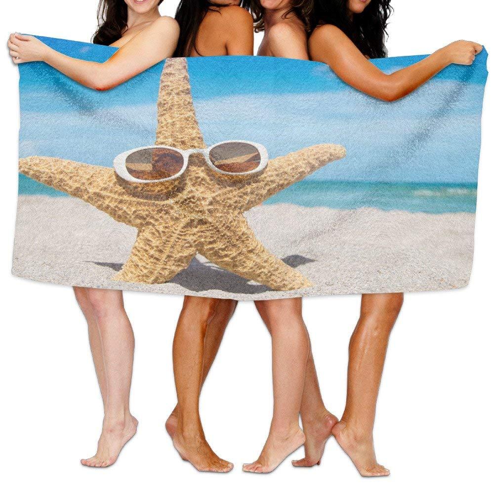 Gemao Yoga Towel Beach and Starfish Custom Personalized Microfiber Absorbent Print Absorbent Towel