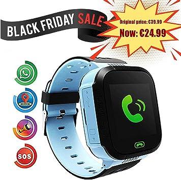 Smartwatch para Niños, Con SOS Anti-Lost Alarm, GPS+LBS ...