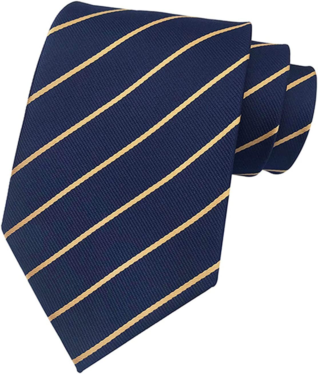 New Classic Striped Ties WOVEN JACQUARD 100/% Silk Men/'s Suits Tie Necktie #L424