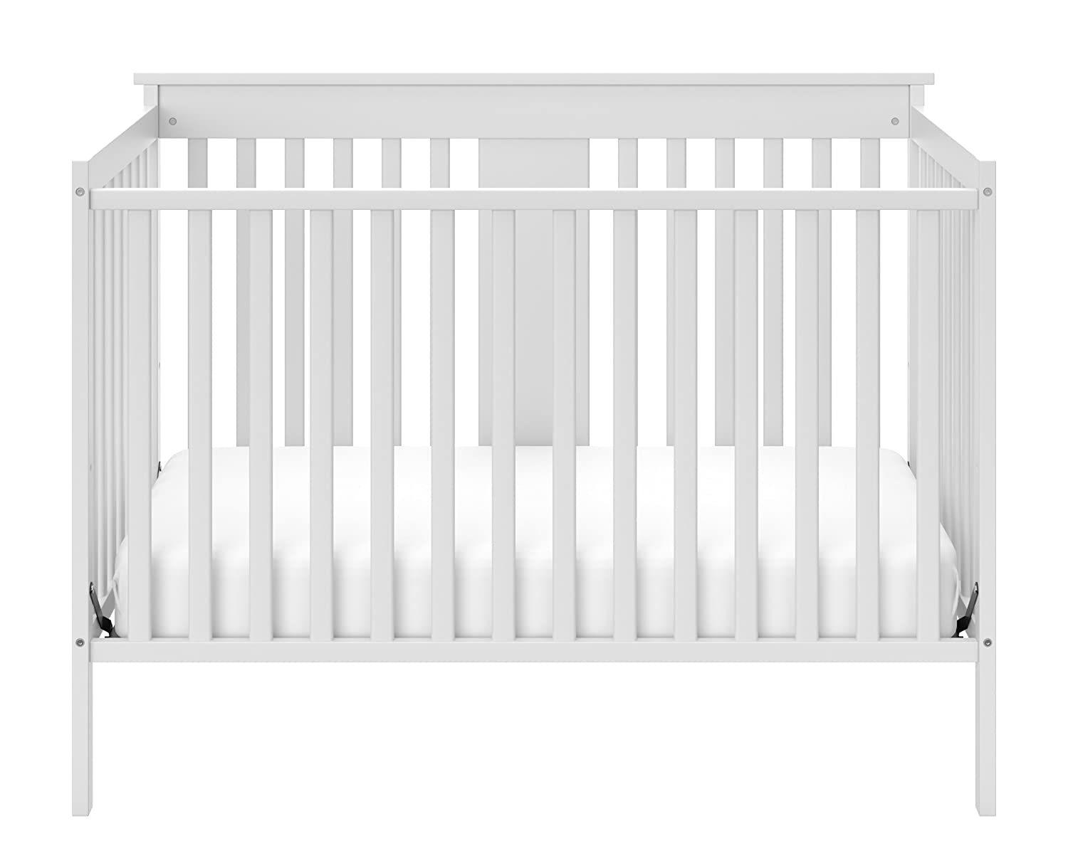 Storkcraft Mission Ridge Fixed Side Convertible Crib, Espresso, Fixed Side Crib, Solid Pine and Wood Product Construction, Converts to Toddler Bed Day Bed or Full Bed, (Mattress Not Included) Stork Craft 04510-359