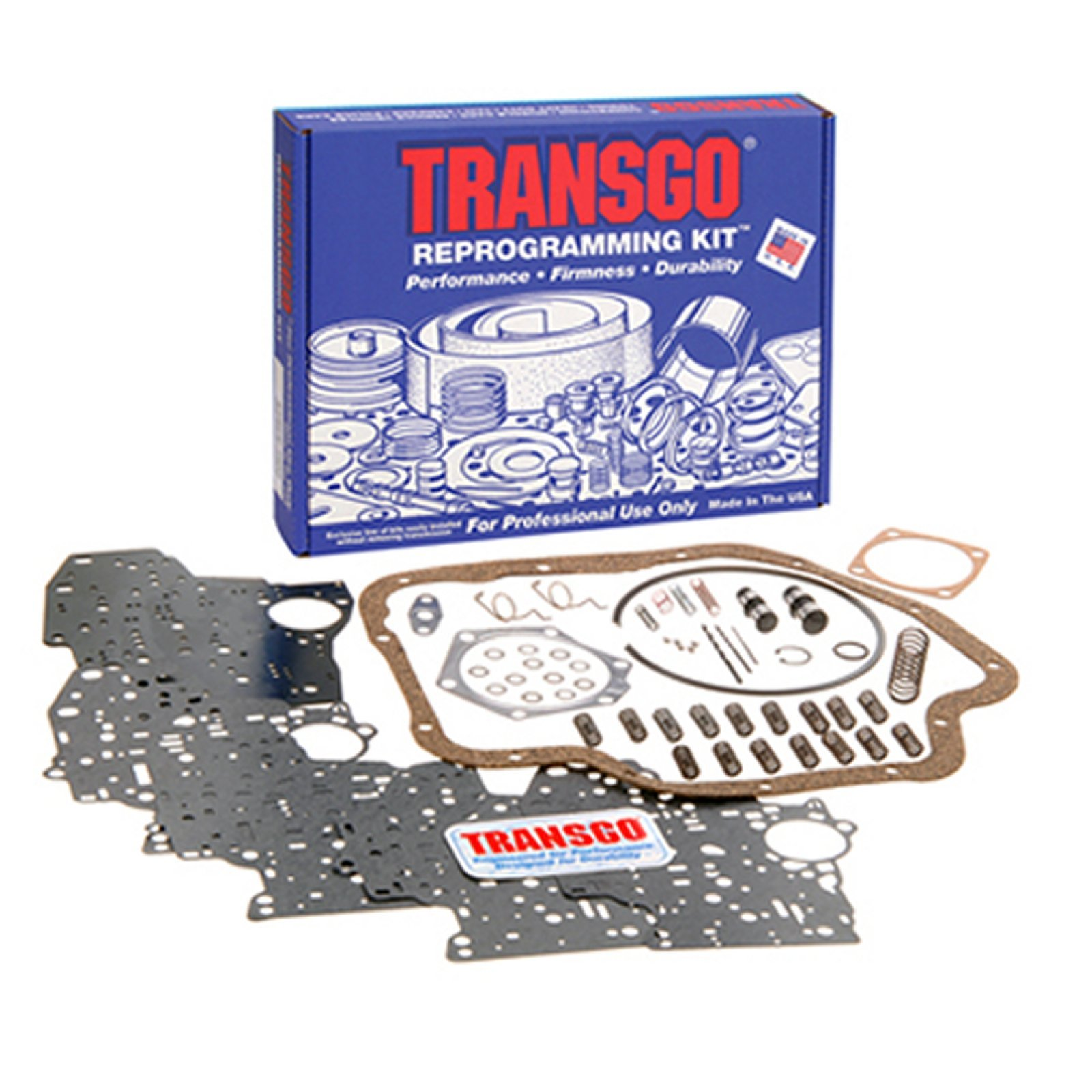 THM 400 TRANSGO Shift Kit Valve Body Rebuild Kit 65-up