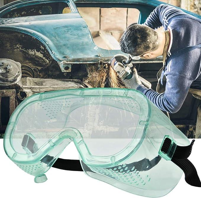 Gafas de Seguridad Cl/ásica Transparentes Ocular Protecci/ón Gafas Protectoras Antirrayaduras para Construcci/ón Proyectos Dom/ésticos y Trabajo de Laboratorio Bricolaje
