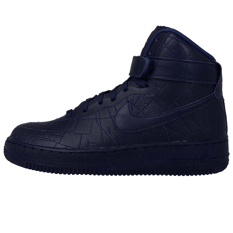Deep Royal bluee Deep Royal bluee 8 B(M) US Nike Womens Air Force 1 HI FW QS Leather High Top Basketball shoes
