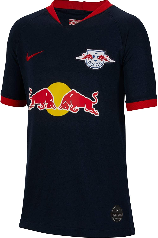 Amazon Com Nike 2019 2020 Red Bull Leipzig Away Football Soccer T Shirt Jersey Kids Clothing