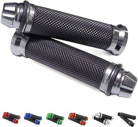 Dome Universal Motorrad//Roller Lenkergriffe Griff Griffgummis 22//24-25mm Grau