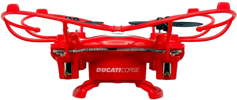 Colore Nero Ducati Corse Mini Drone a Tre velocit/à Flip /& Rolls con Paraeliche Incorporate e Radiocomando DC01B