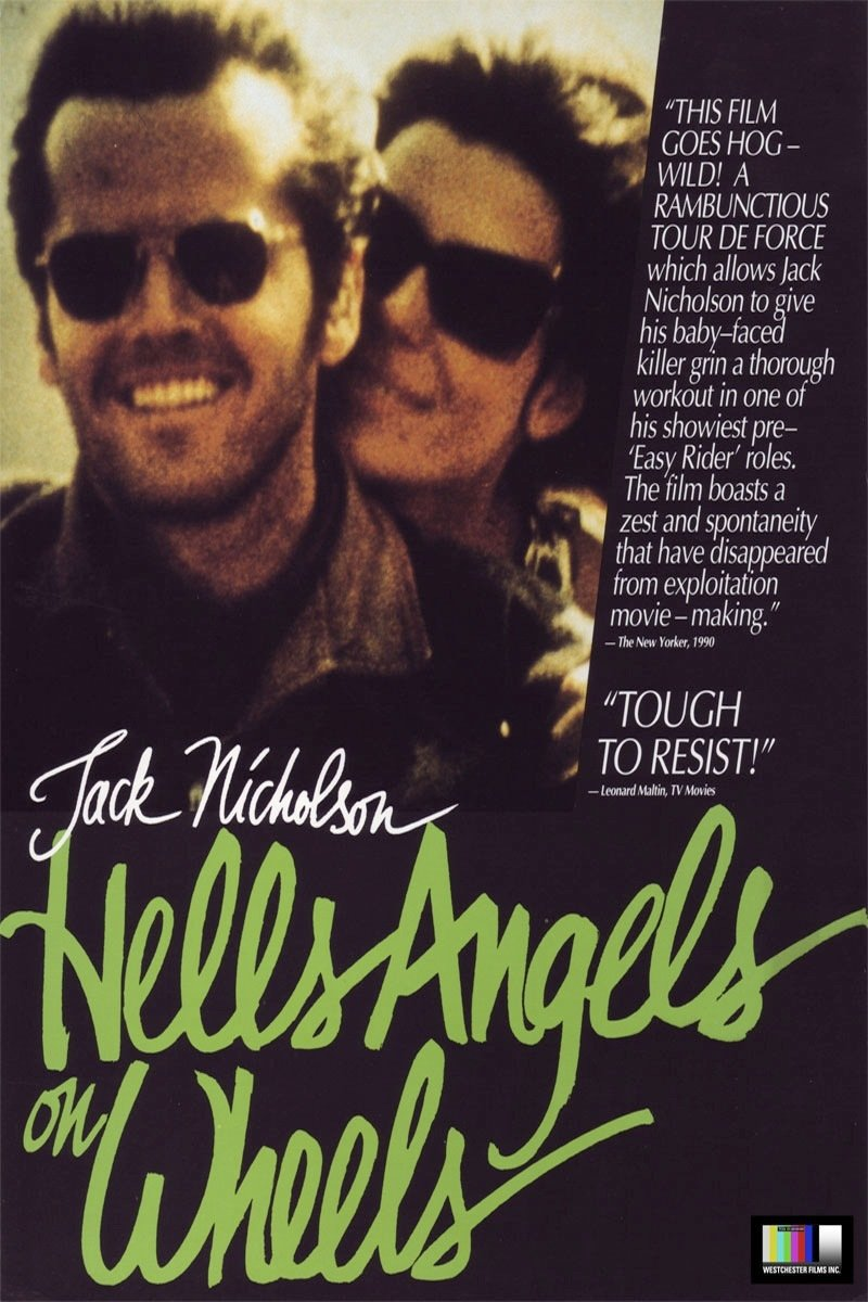 Hells Angels on Wheels Vintage Movie Poster