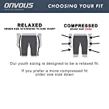 Onvous Boys Raven Compression Racing Swimsuit