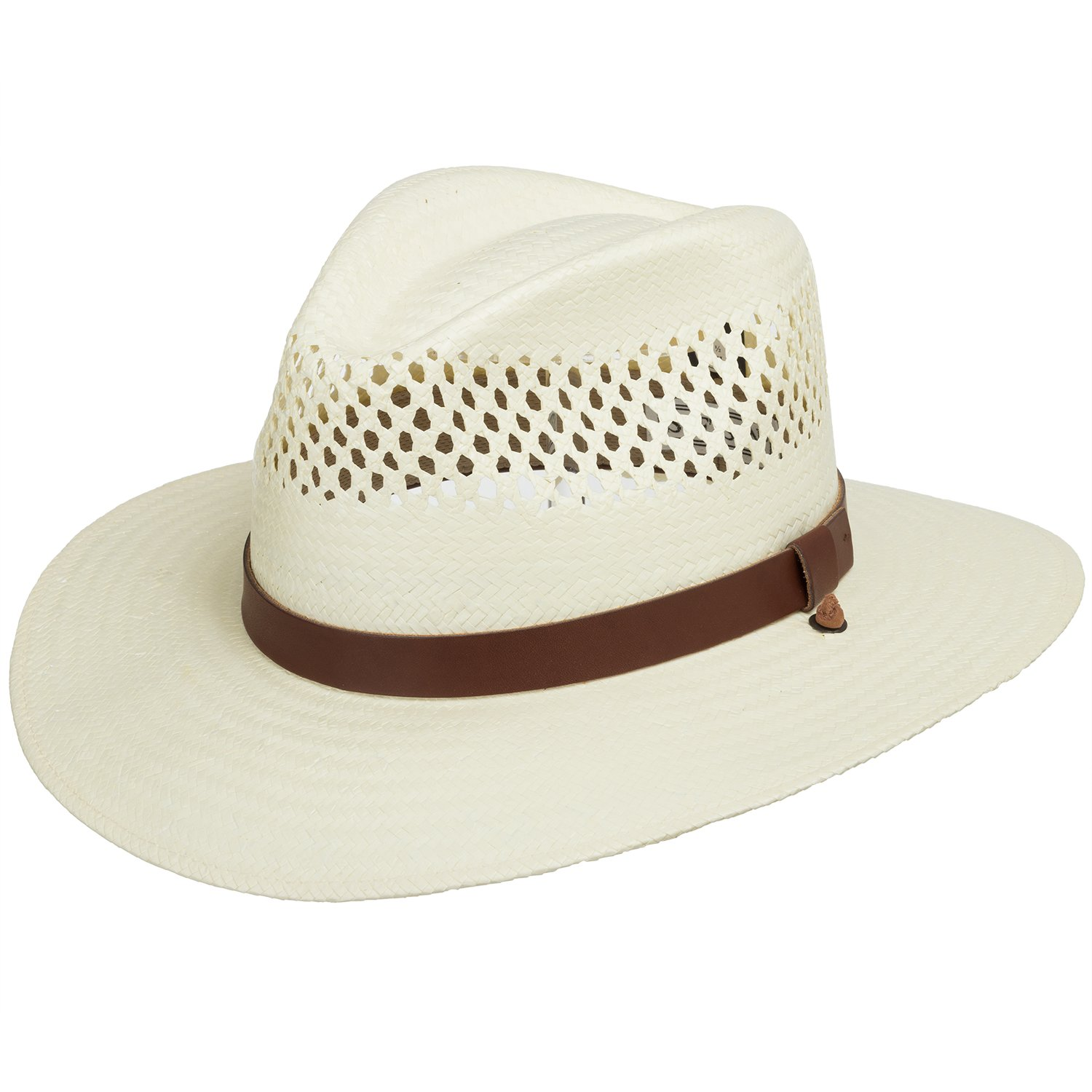 Stetson Digger Vented Straw Outback Hat ULTRAFINO 123004